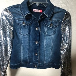 NWOT Girls Jean Jacket